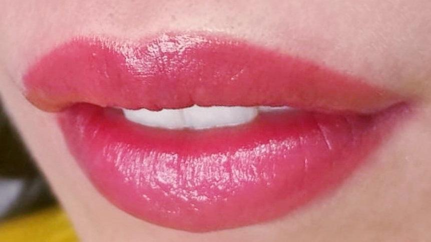 акварельные губы в Курске 06