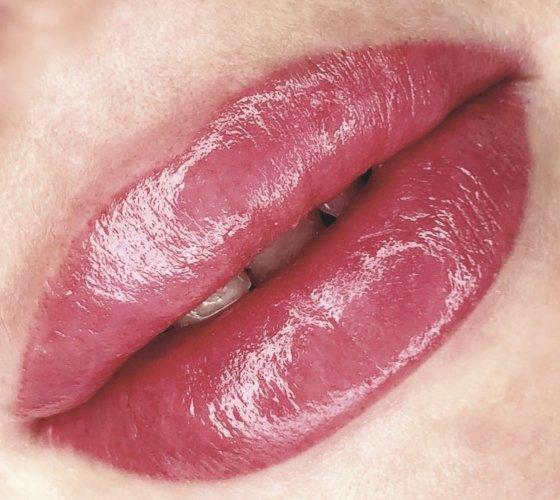 акварельные губы в Курске 09